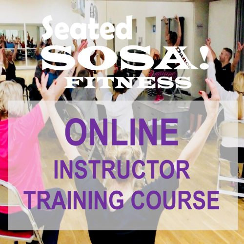 Seated SOSA Dance Fitness Online Instructor Training Course